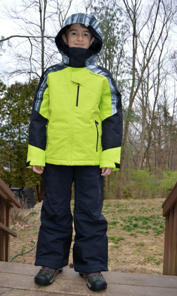 Obermeyer kids ski wear and innovative features to look for.  Review, product provided.