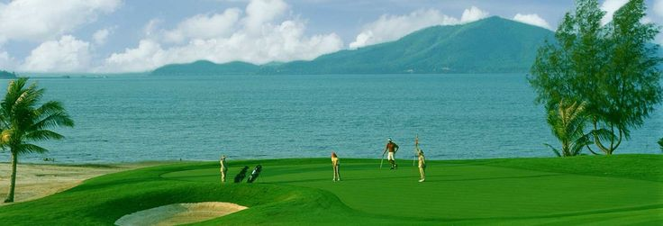 Nestled amongst a coastal mangrove forest and rubber plantations. Designed to provide a test for experienced golfers.