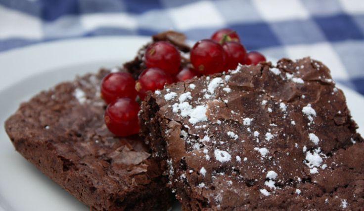 Grunnoppskrift brownies