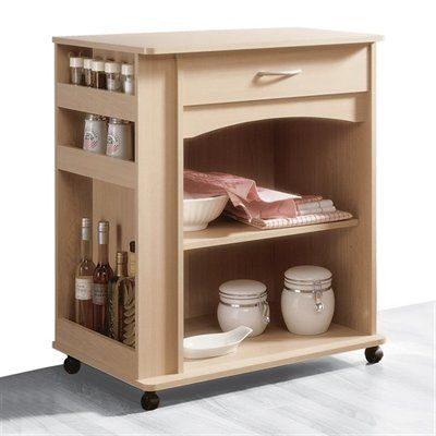 Nexera 597 Microwave Cart This Microwave Cart from Nexera is available in a natural maple finish.  Microwave CartAllows you to have more space on your
