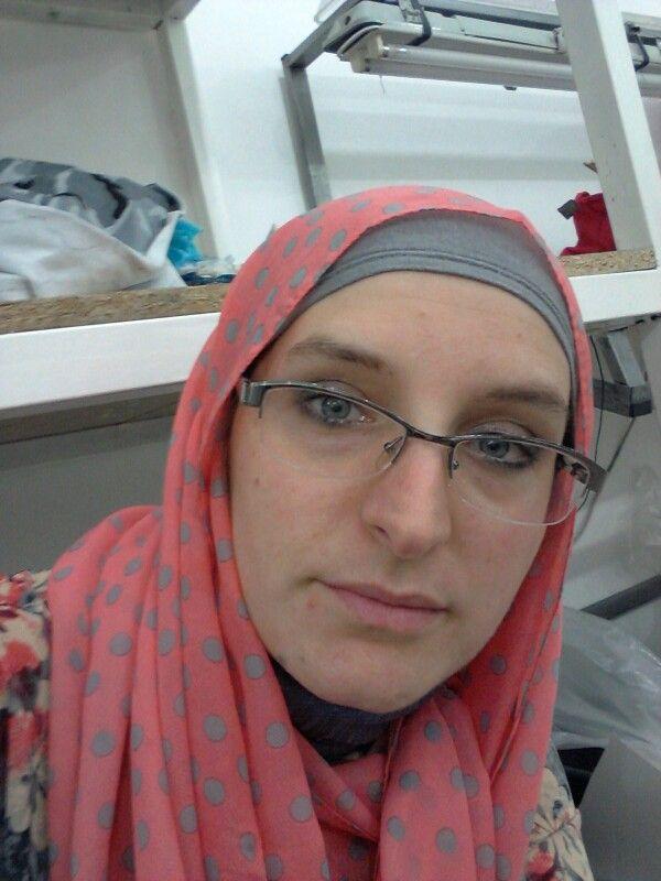 Working hijab