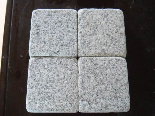 Tumbled G603 Granite Cobble stone supplier and exporter
