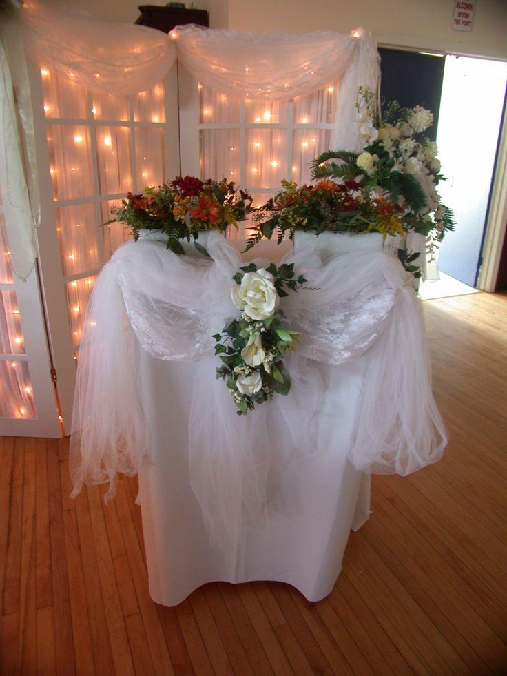 10 Best Podium Reception Decor Images On Pinterest Wedding Decor Receptions And Reception