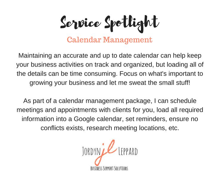 A virtual assistant can help with this, and so much more! Don't get bogged down with the details. Focus on the aspects of your business that you love, and delegate the rest!