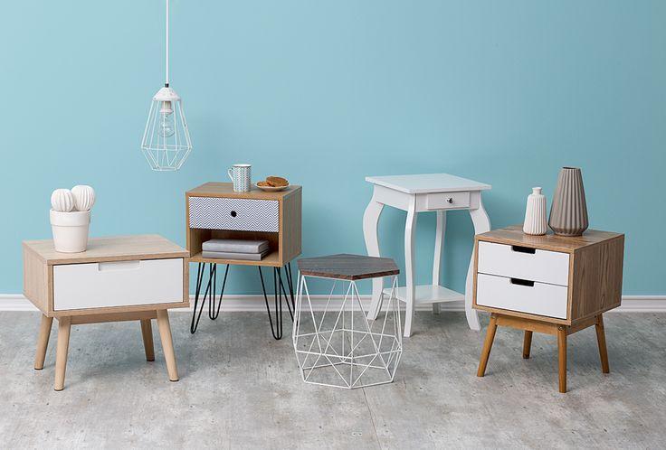 Veladores y mesas para cada personalidad. #Muebles #Easytienda #Decoración #Combinaciones