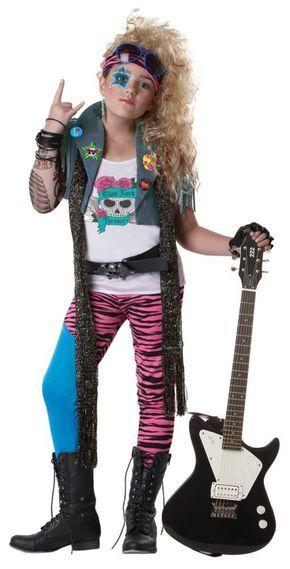 Best 25 punk rocker costume ideas on pinterest rocker nails 80s glam punk rocker rock star child costume solutioingenieria Image collections