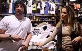 O ator brinca contando o que faria se ficasse sem dinheiro e fala que é preciso equilíbrio no consumo.