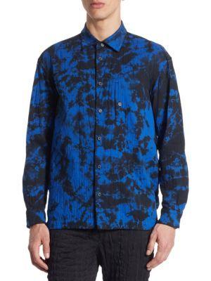 ISSEY MIYAKE Dfc Arashi Regular-Fit Shirt. #isseymiyake #cloth #shirt