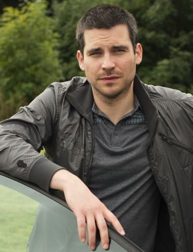 "Inspiration for the character, ""Robbie"", before I knew his real name was Rob James-Collier. ;)"