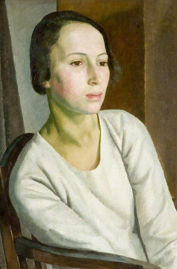Girl in White. Dod Procter.