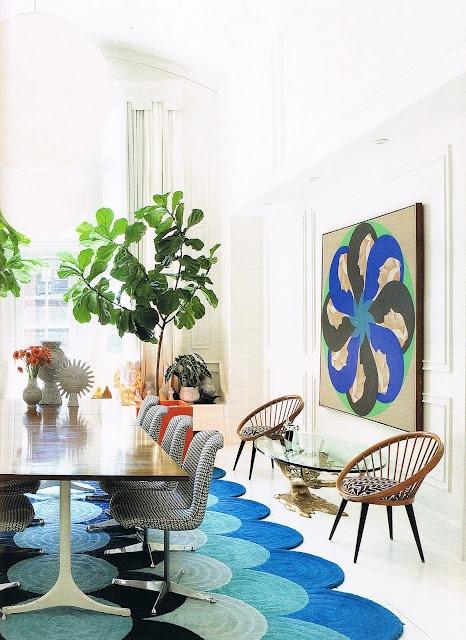 Jonathan Adler and Simon Doonan's apartment