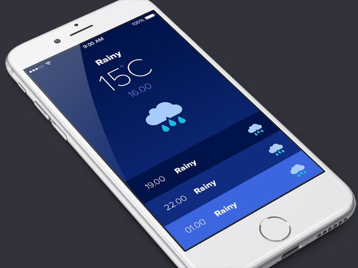 Weather App by Rebecca Eriksson