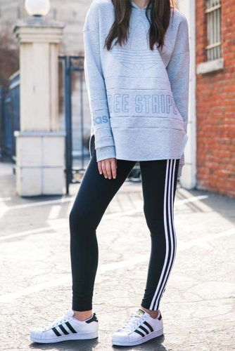 promo code f6eac 12ee1 36 Adidas Pants Outfit Ideas  Super Combo Of Comfort And Beauty   S T Y L E    Pinterest   Adidas pants, Outfits and Pants outfit