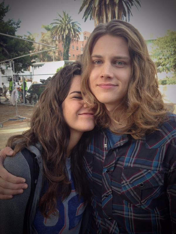 calliexbrandon: Did I ever share to #TheFosters fannation this adorbs Callie-Wyatt pic? Gorjus hairx2 styled by our Dept Head Doreen!