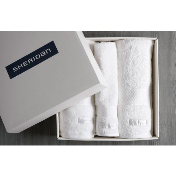 Sheridan Luxury Egyptian Cotton Gift Set White