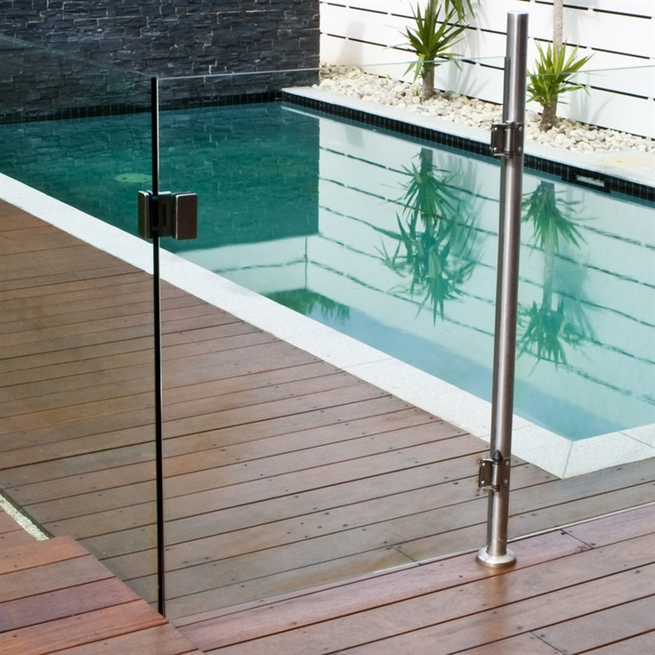 1200 x 900mm Gate panel for Semi Frameless Glass Pool Fencing