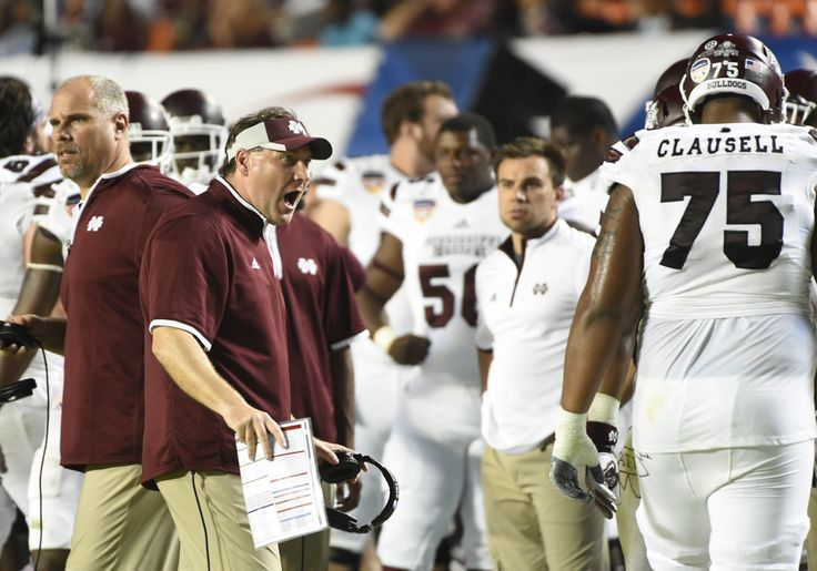 """When you think of Dan Mullen the obvious term that comes to mind is """"swag."""" At least that's what Mullen himself is striving for.  The Mississippi State head coach took the podium Tuesday during SEC Media …"""