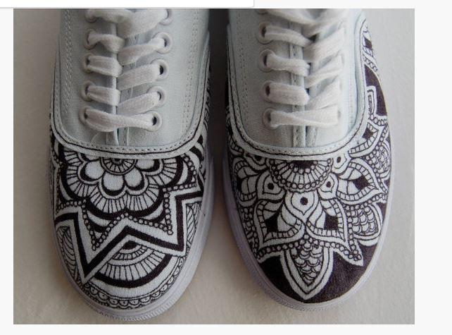 sharpie shoe