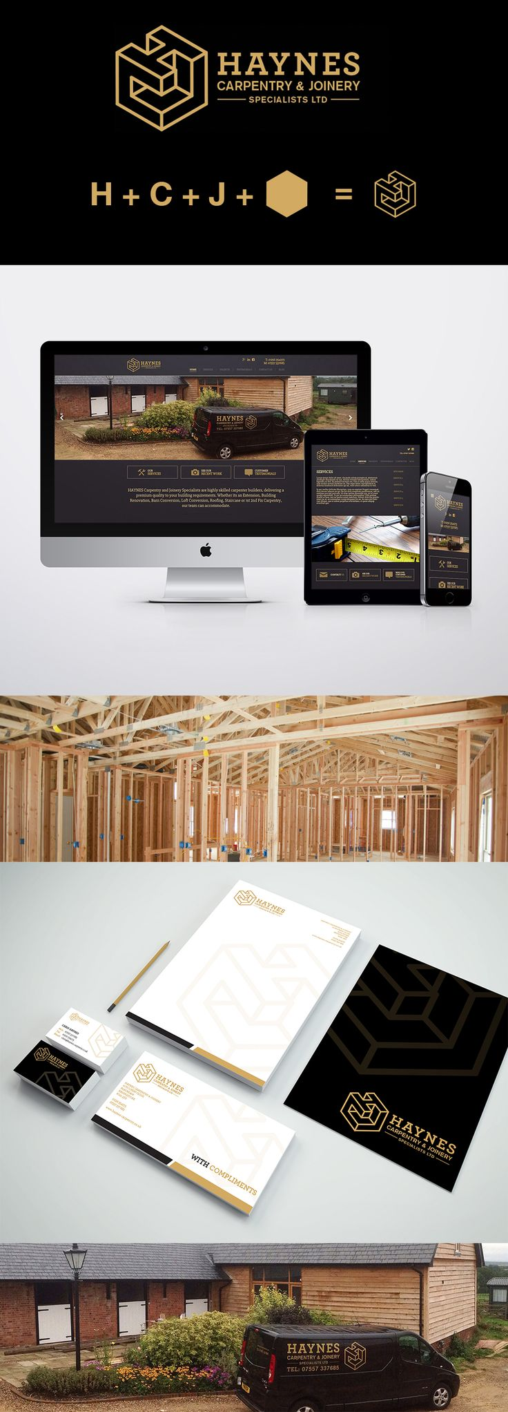 116 best carpentry branding images on pinterest graphics basingstoke joinery experts haynes carpentry needed a new website design to promote their business and to woodworking magicingreecefo Image collections