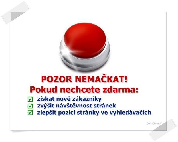 Reklamní systém pro zvýšení návštěvnosti webuhttp://www.seosurf.cz/surf_ads_en.php?uz=5843