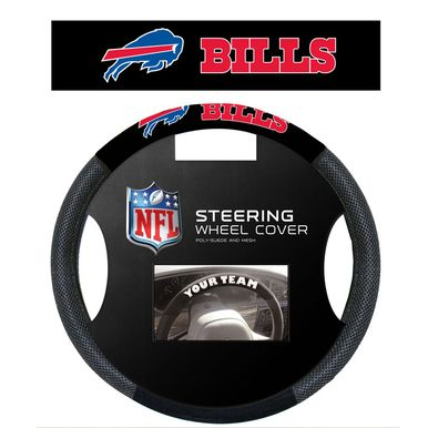 Buffalo Bills NFL Poly-Suede Steering Wheel Cover