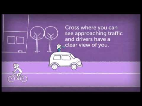 Midblock crossings - choosing a safe place to cross