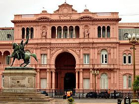 Casa Rosada - executive mansion and office of the President of Argentina