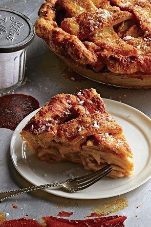 Salted Caramel Apple Pie - Four  Twenty Blackbirds