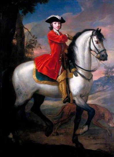 Charles Spencer, 3rd Duke of Marlborough (1706–1758) by John Vanderbank    Date painted: c.1719