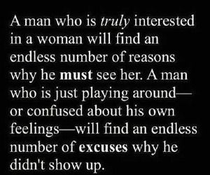 If a man is interested in a woman for keeps