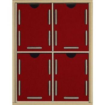 Werkhaus Shop - Werkbox Modul 2x2 - Schublade MDF