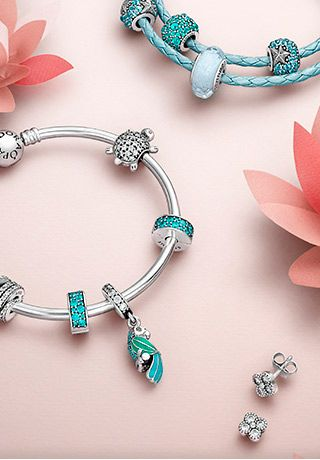 cool and breezy for summer the new pandora summer 2016 charms and jewelry have arrived - Pandora Bracelet Design Ideas
