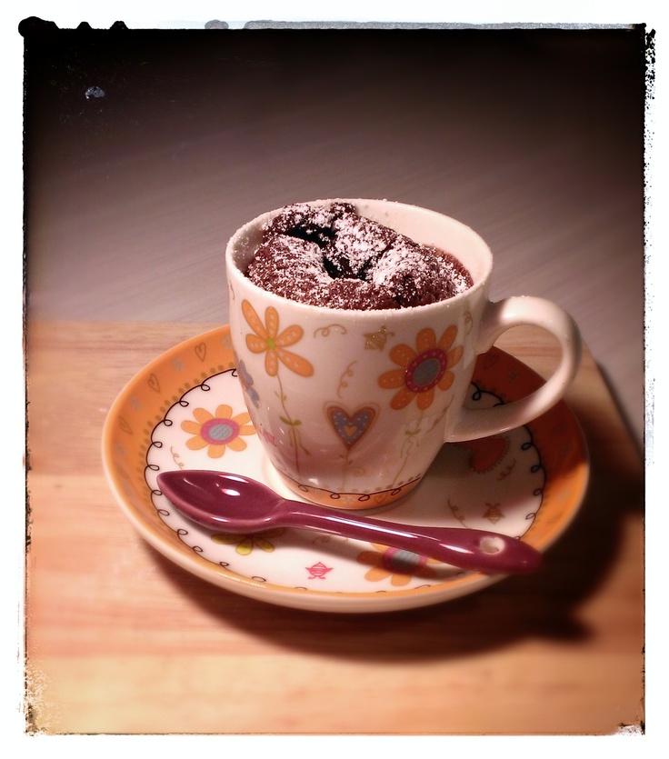 Fondant au chocolat, recette Christophe Felder / chocolat cupcake