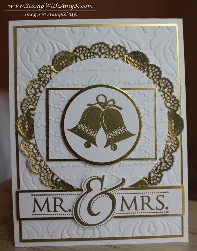Stampin Up - Mr. & Mrs. +  Embellished Events AmyK