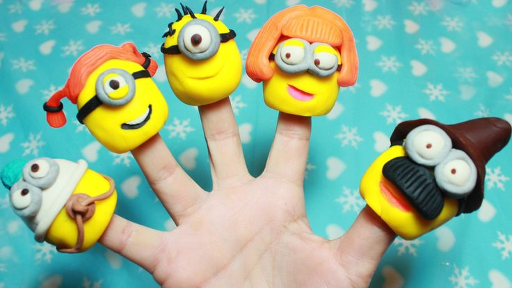 MINIONS DESPICABLE ME Finger Family Songs - Nursery Rhymes Lyrics Funny ...