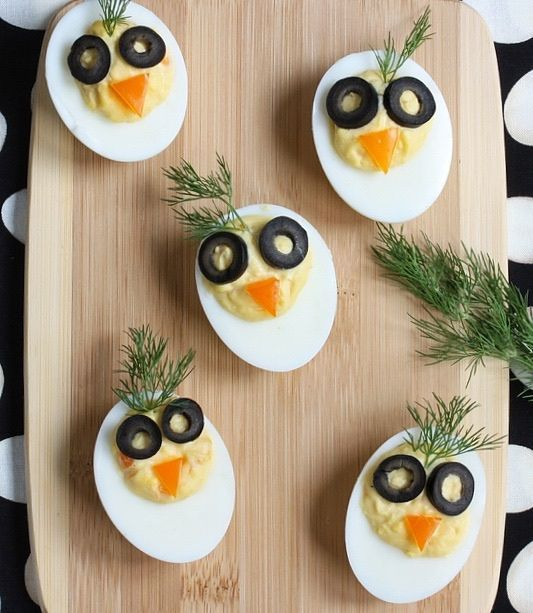 Chirp, Chirp Deviled Eggs |Adorable & Nutritious | Eggs get turned into playful chicks. Ridiculously adorable.