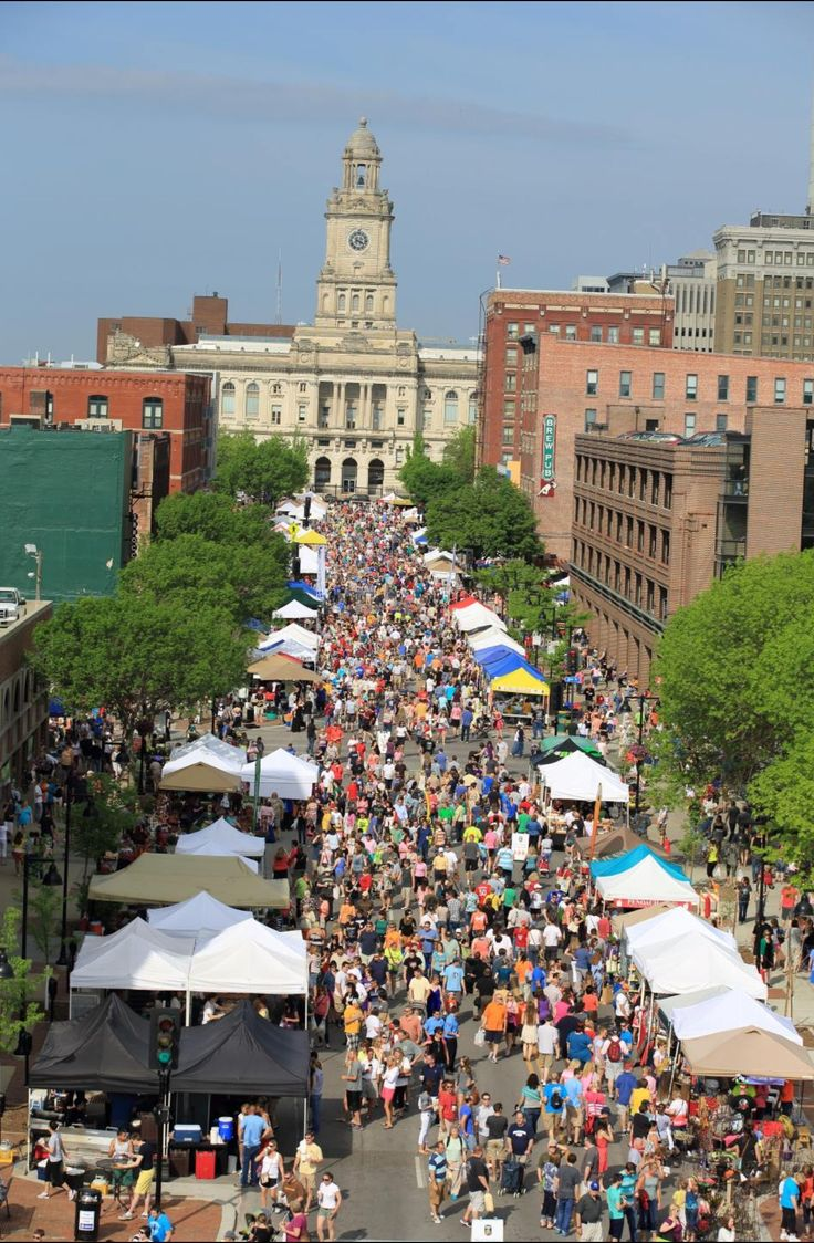 Downtown Farmer's Market: Des Moines, IA. We go there once a year... For sure.