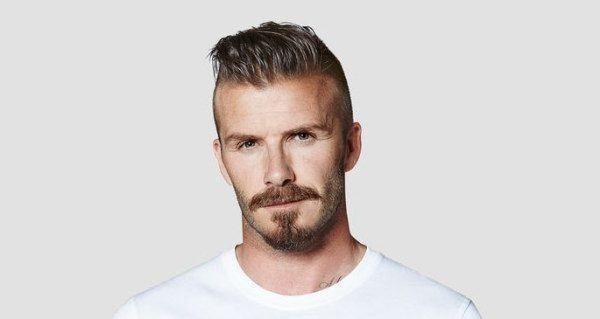 Famosos con barba 2016 David Beckham