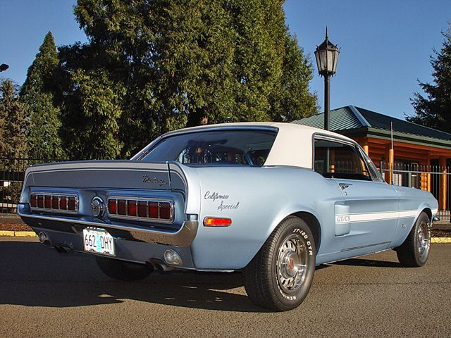 Ford Mustang California Special 1968