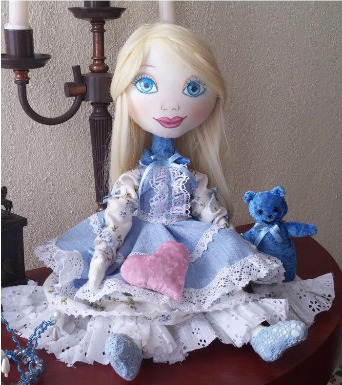 flavored doll Textile doll. With lavender. Текстильная кукла. Ароматизированная кукла. Лаванда.