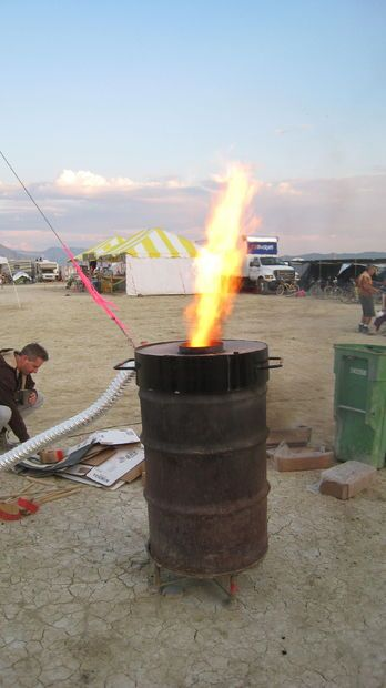 I just did a write-up of how to build a barrel incinerator.