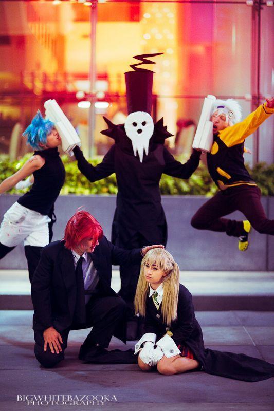 A FUN Soul Eater group cosplay!  http://saikoplus.com/