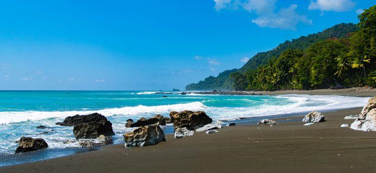 Where the Jungle Meets The Sea Corcovado National Park Costa Rica [OC] [5913 x 2733] #reddit