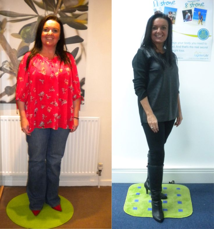 Samantha Welsby, 46, from Denton in Manchester, lost over 2 stone after attending the LighterLife Lite programme in Hyde. She has been maintaining her weight ever since.