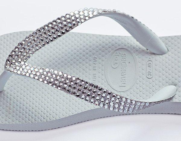How to Make Swarovski Crystal Flip Flops Tutorial   Crystal and Glass Beads