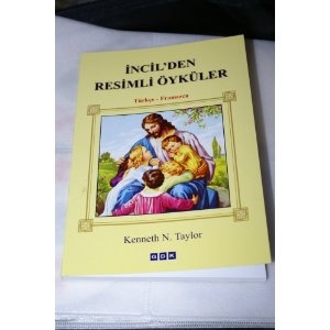 Turkish Children's Bible New Testament / Incil'den Tesimli Oykuler  $29.99