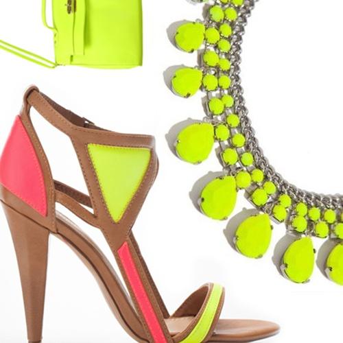 Neon accessories. #ebayfashion