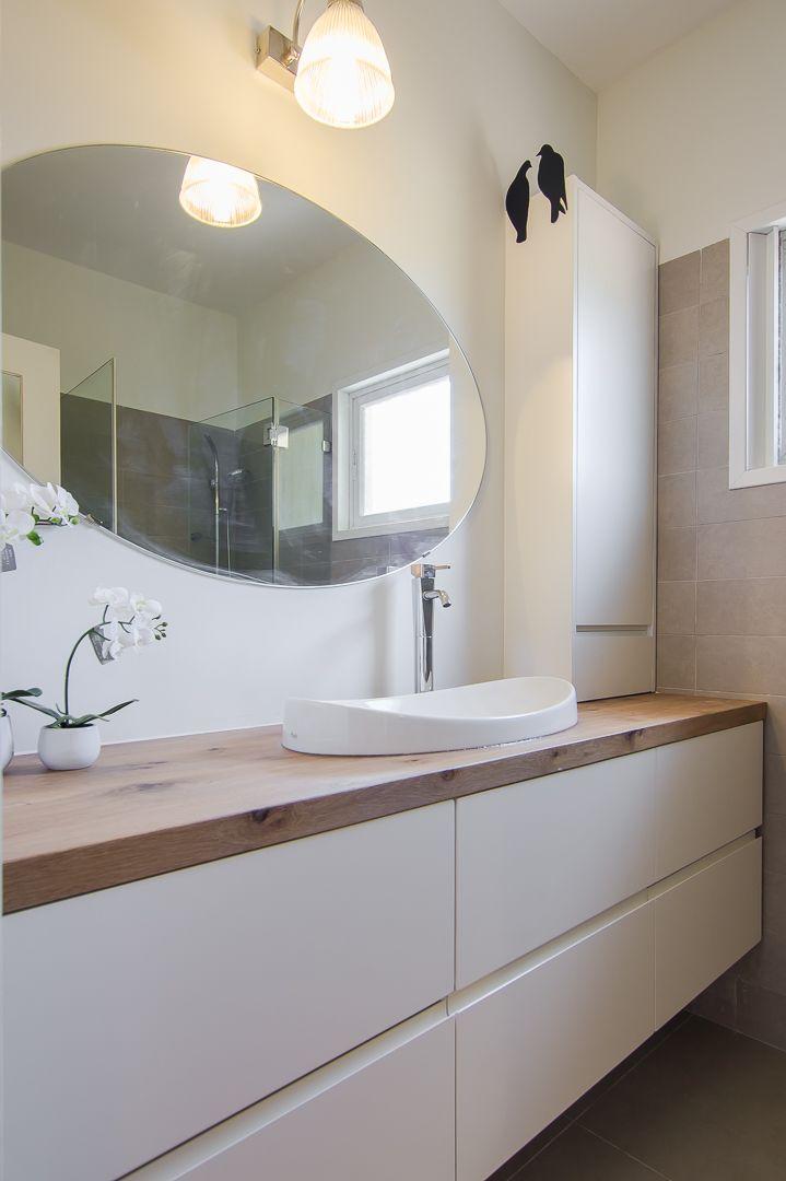 ארון אמבטיה מעצב אלון