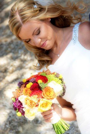 ANGELA wedding bouquet by Moments www.weddingincrete.com