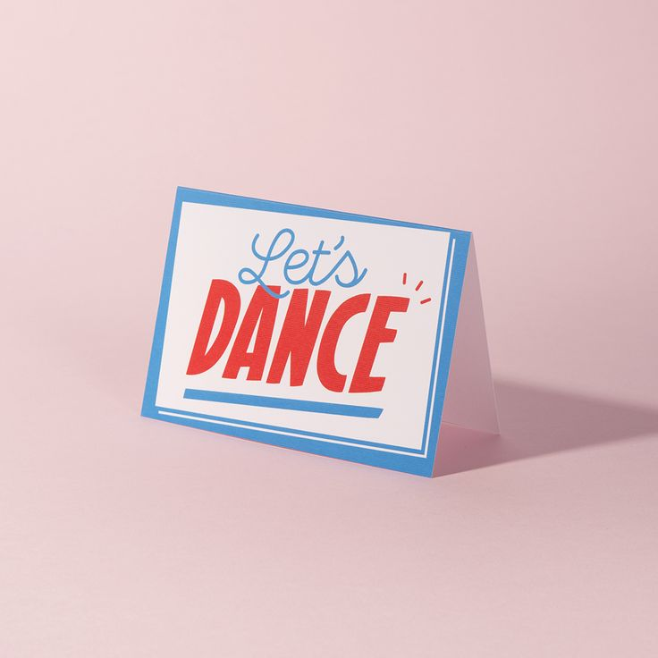 Send a FREE Valentine's Day card on us!  'Let's Dance' design by Crispin Finn for Not Another Bill.